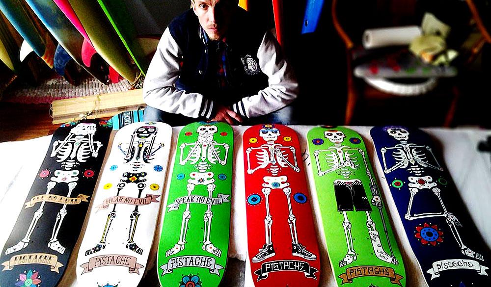 Skate Art Skateboard Artists
