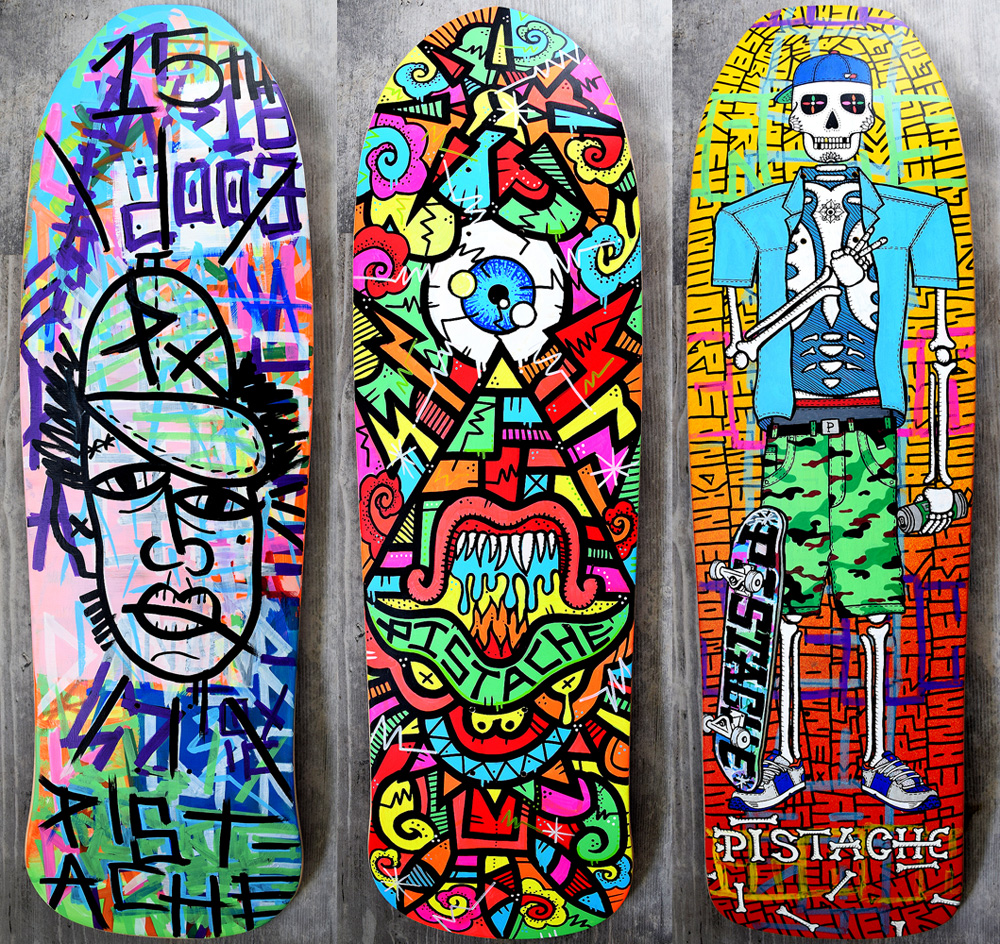 Skate Art Skateboard Artists