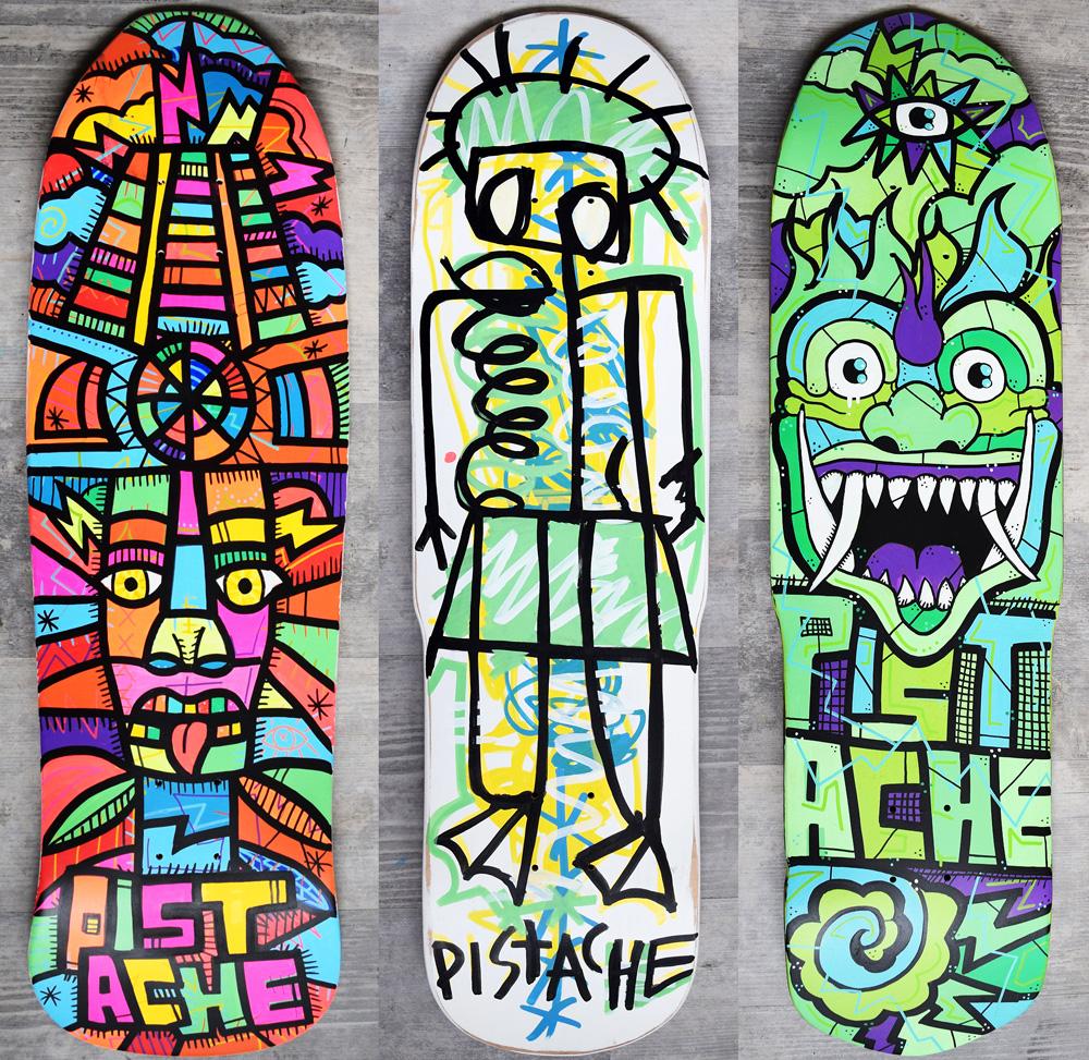 Skateboard Skate Art Graphics