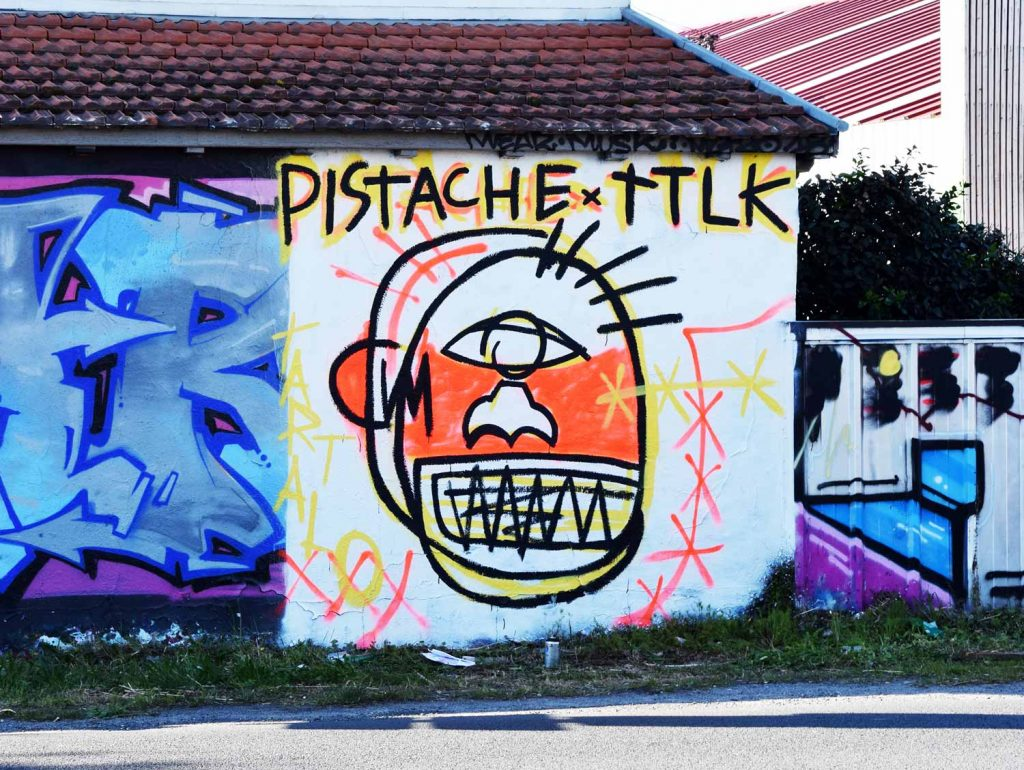 Street Art in Bayonne & Biarritz by Pistache