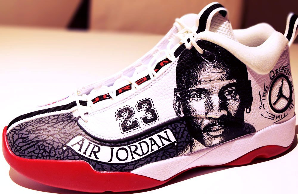 Customize your Jordans