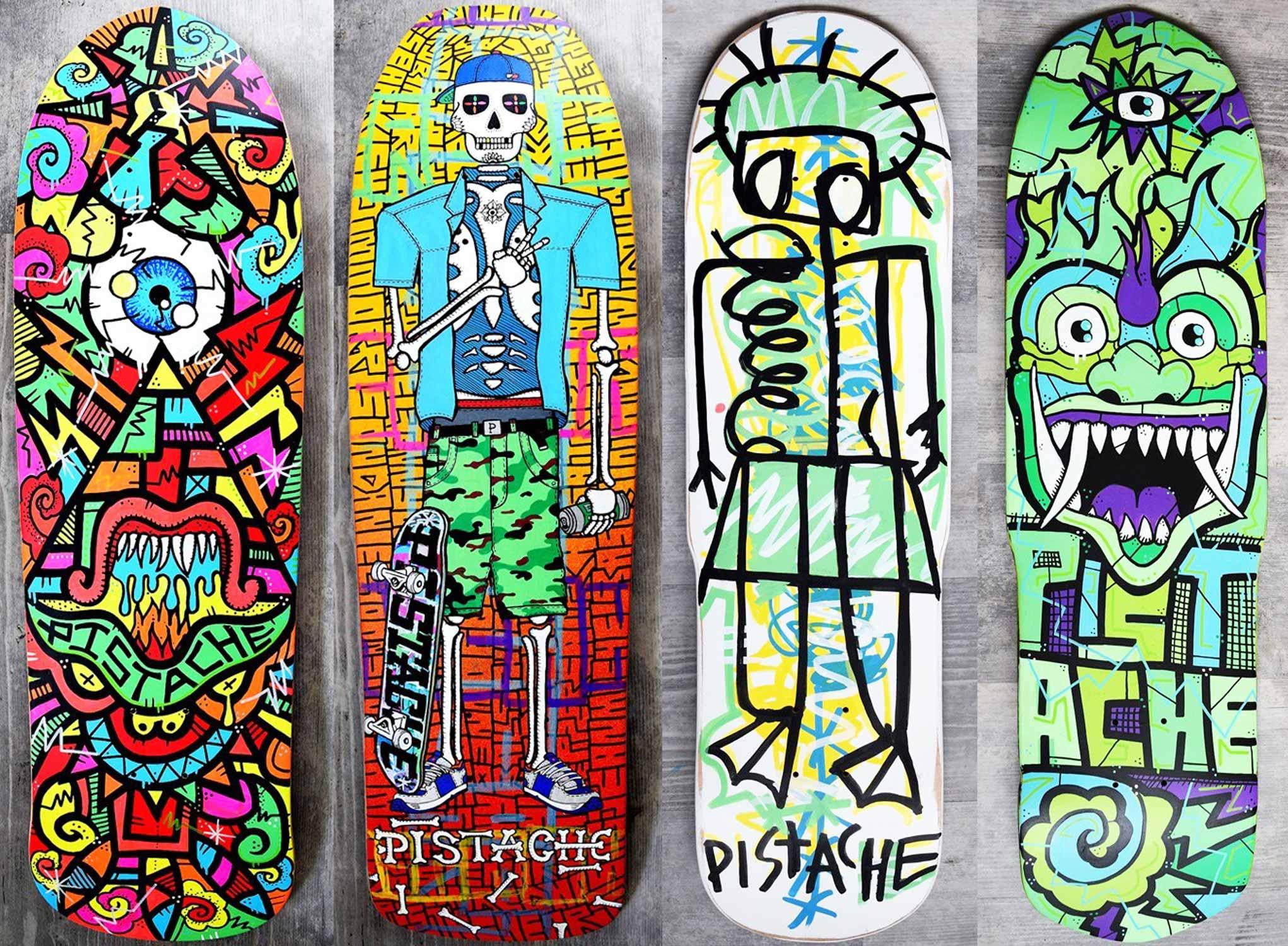Win Skate Art by Pistache Artists