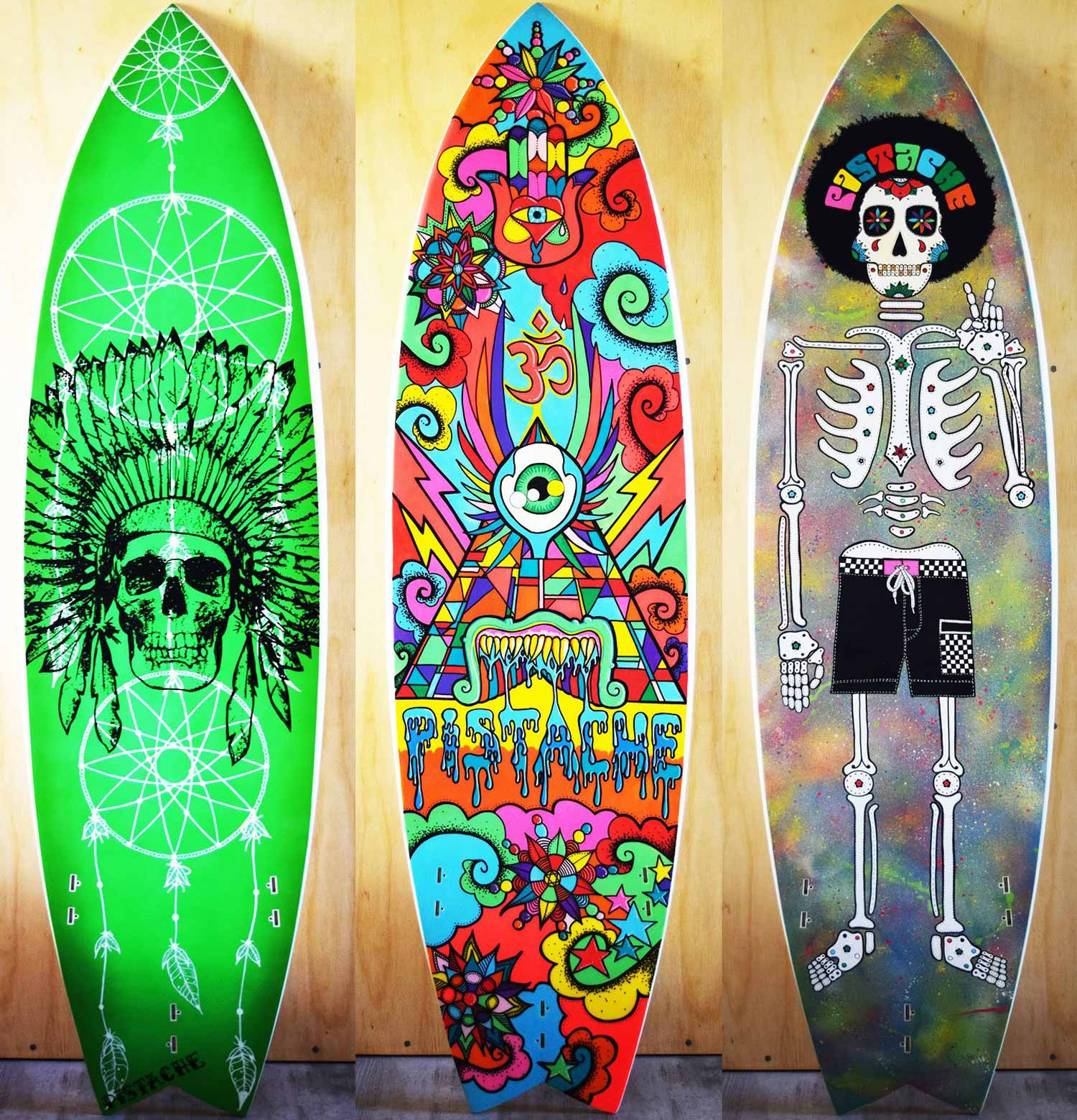 Win Surf Art by Pistache Artists