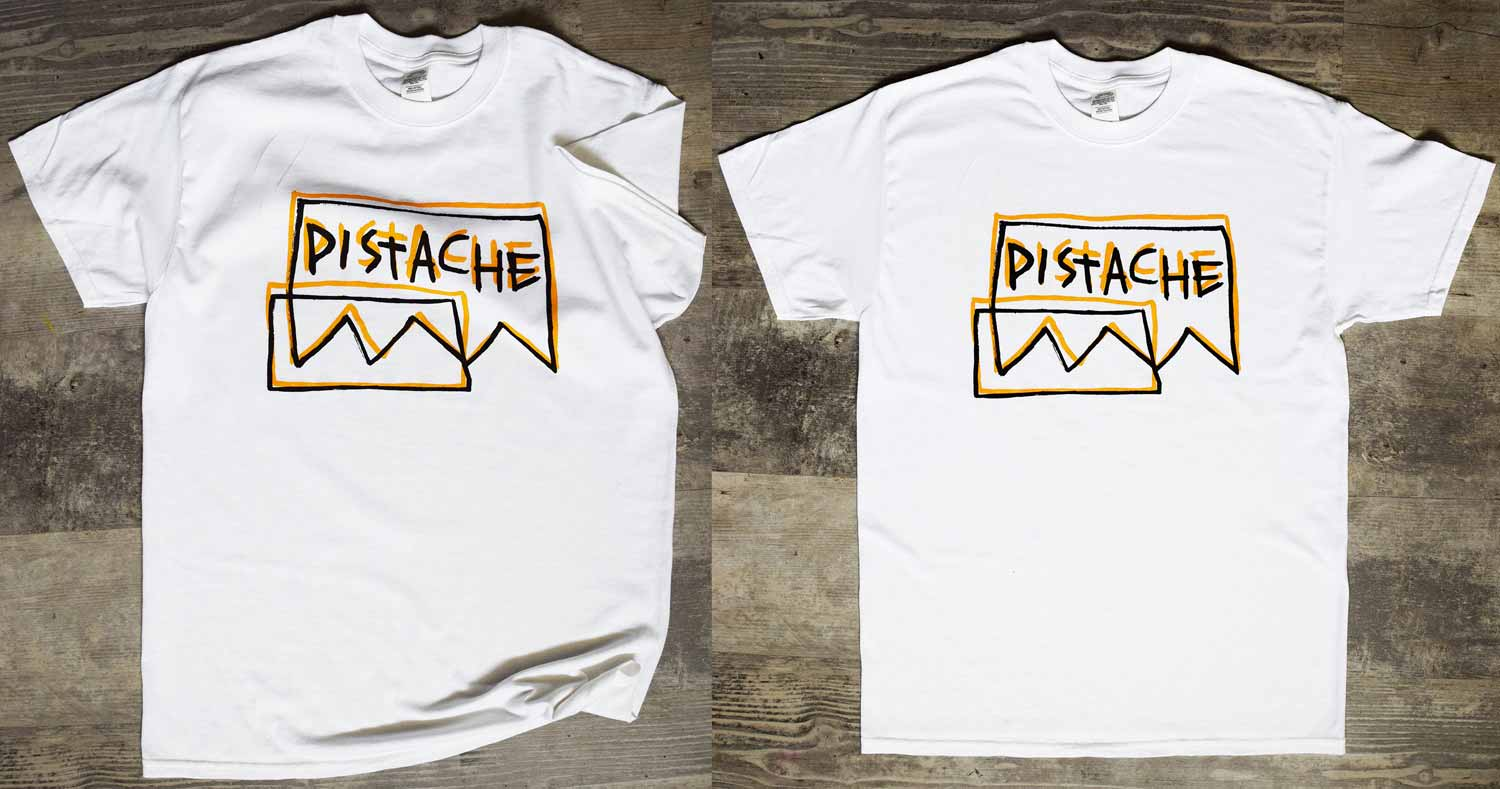 Win Hand Painted T-Shirts by Pistache Artists