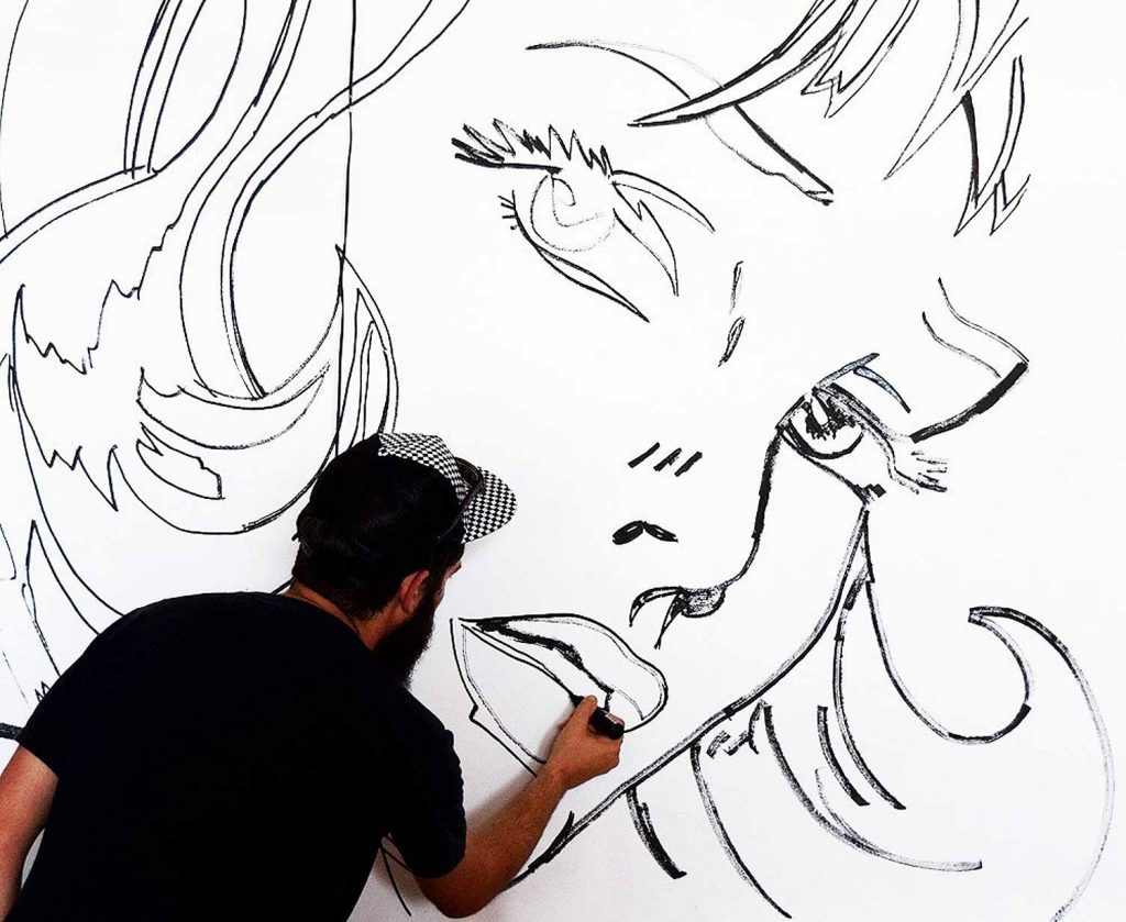 Pistache Mural