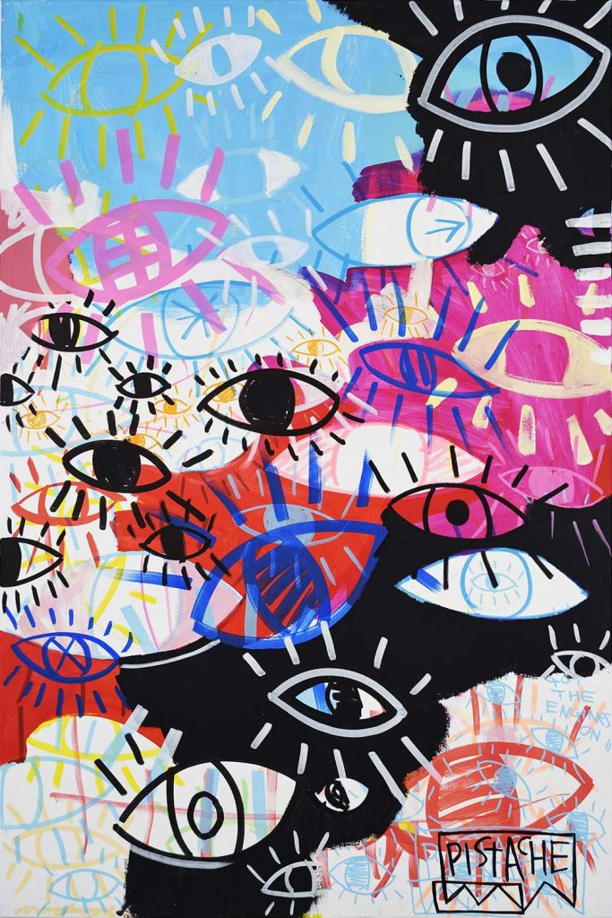 Eye Art Painting