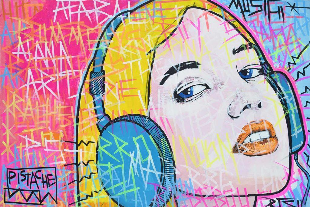 Girl Art Painting