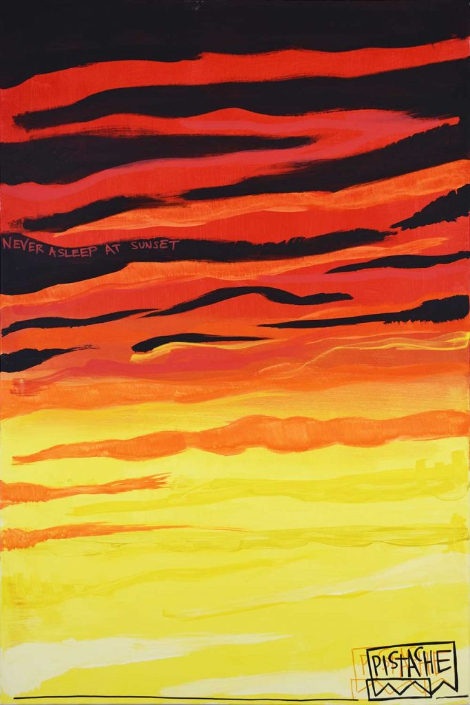 Sunset Art Painting